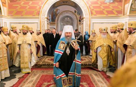 Митрополит Иоанн принял участие в праздновании 25-летия архиерейского служения Блаженнейшего Митрополита Киевского и всей Украины Онуфрия