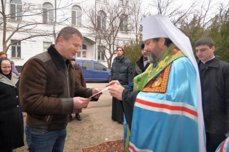 Митрополит Иоанн освятил новую колокольню и колокола в Степановке
