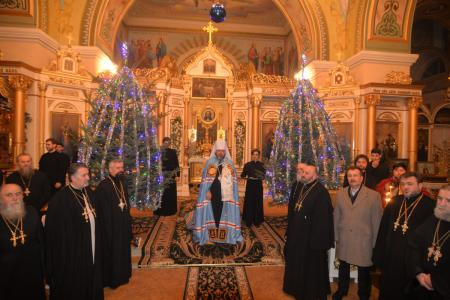Великая вечерня в день Рождества Христова