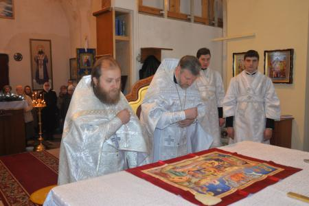 Празднование в честь иконы Божией Матери «Трех радостей» в Музыковском Покровском монастыре