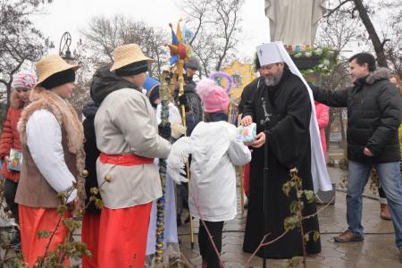 Праздник Рождественской Звезды в Херсоне