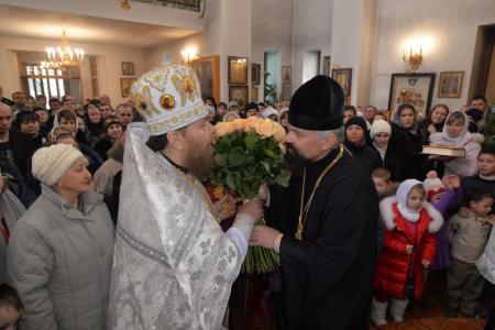 Воскресное богослужение в Казанском храме с. Чернобаевка