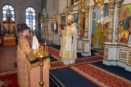 Праздник Обрезания Господня в Никольском Морском соборе Херсона
