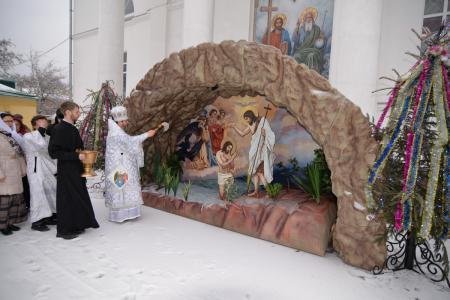 Крещенский сочельник в Свято-Духовском кафедральном соборе Херсона