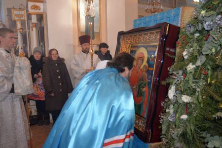 В Херсон прибыли мощи праведной Анны, матери Пресвятой Богородицы