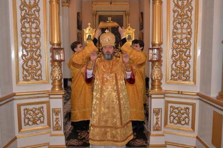 Архиерейское богослужение в Неделю о блудном сыне
