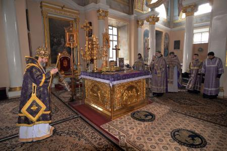 Празднование дня памяти преподобного Варсонофия Херсонского