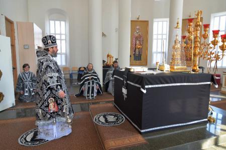Празднование памяти преподобного Алексия, человека Божия
