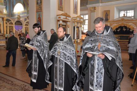 «Мариино стояние» в Свято-Духовском кафедральном соборе Херсона