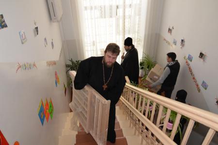 В преддверии Пасхальных праздников Херсонская епархия оказала помощь Областному Дому ребенка