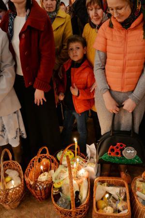 Христос Воскресе! Пасхальная ночь в Свято-Духовском кафедральном соборе Херсона
