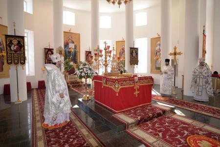 В Светлый Понедельник в Херсоне совершалось празднование в честь чудотворного образа Божией Матери «Благодатное Небо»