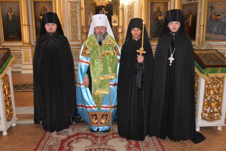 Митрополит Иоанн совершил монашеский постриг