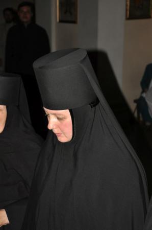 Монашеский постриг в Свято-Духовском кафедральном соборе Херсона