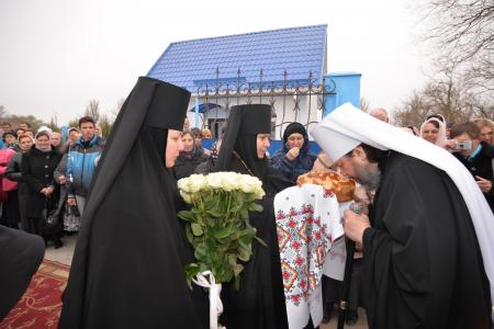 Праздничное богослужение в Благовещенском женском монастыре