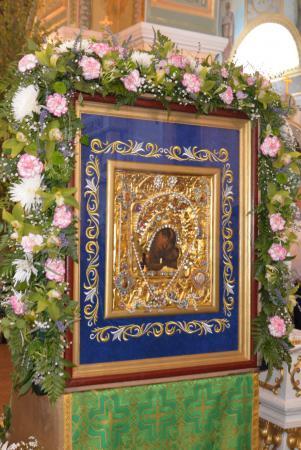 В День Святого Духа в Херсон прибыла чудотворная Касперовская икона Божией Матери