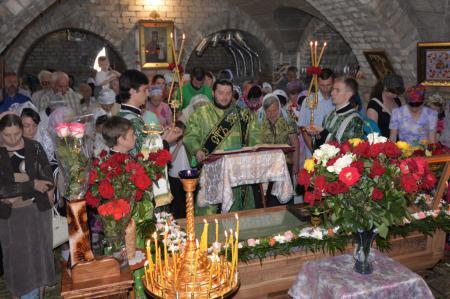 Празднование памяти блаженной Домники Алешковской