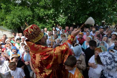 Престольный праздник в храме Всех Святых города Херсона