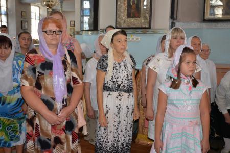 Престольный праздник в Никольском Морском соборе Херсона