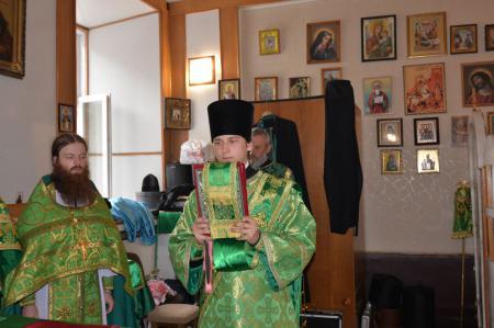Престольный праздник в Сергиевском храме Херсона