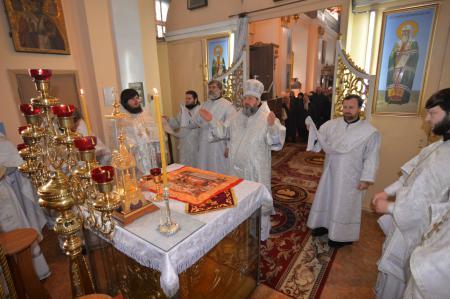 Престольный праздник Свято-Духовского кафедрального собора