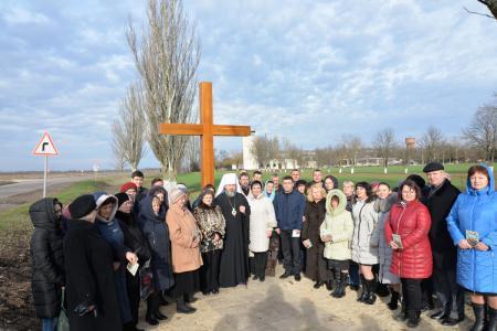 Митрополит Херсонский и Таврический Иоанн освятил Поклонный Крест