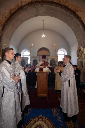 Архипастырский визит митрополита Иоанна в церковь Рождества Богородицы в Киндийке