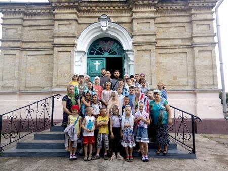Воспитанники детской воскресной школы при Свято-Духовском кафедральном соборе Херсона совершили духовно-познавательную экскурсию