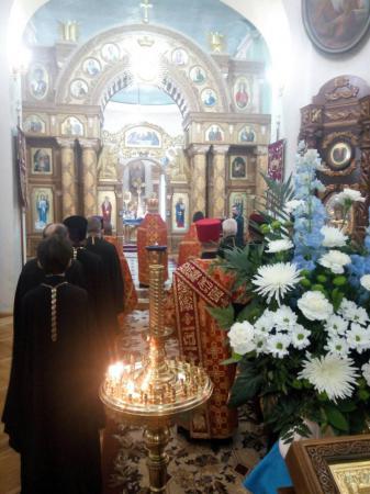 Соборная молитва в день празднования 240-летия основания Херсона