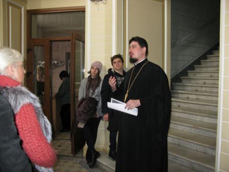 Экскурсия «Иконы Екатерининского собора» для учеников воскресных школ города Херсона