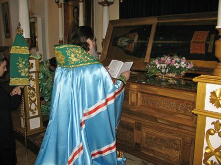 Акафист у мощей преподобного Варсонофия Херсонского