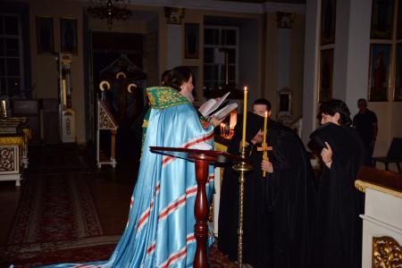 В Херсоне постригли в монахи Флориана