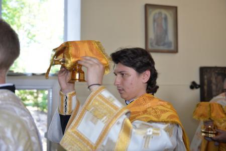 Богослужение в Неделю 8-ю по Пятидесятнице