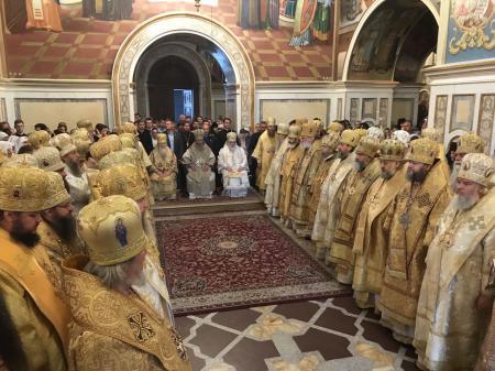 Митрополит Иоанн принял участие в праздновании пятой годовщины интронизации Предстоятеля Украинской Православной Церкви
