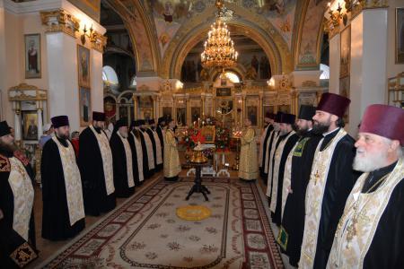 Всенощное бдение накануне праздника Собора Херсонских святых