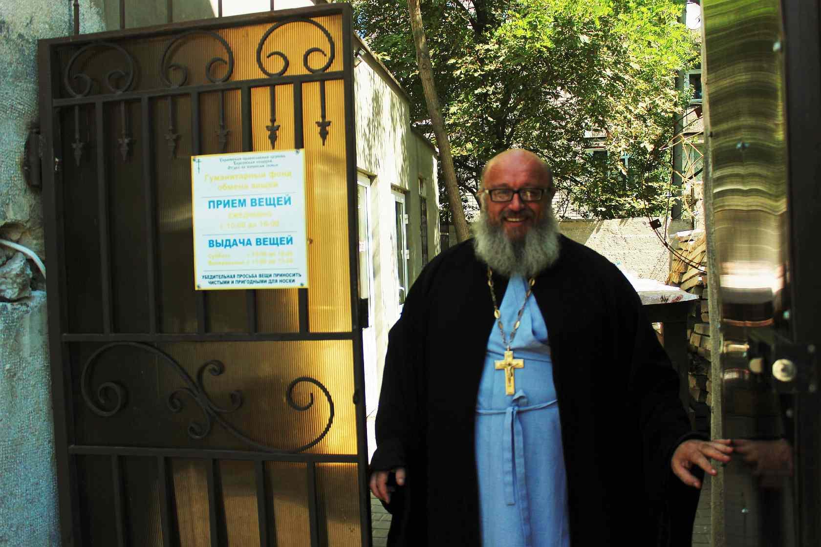 Жители Голой Пристани собрали вещи для неимущих