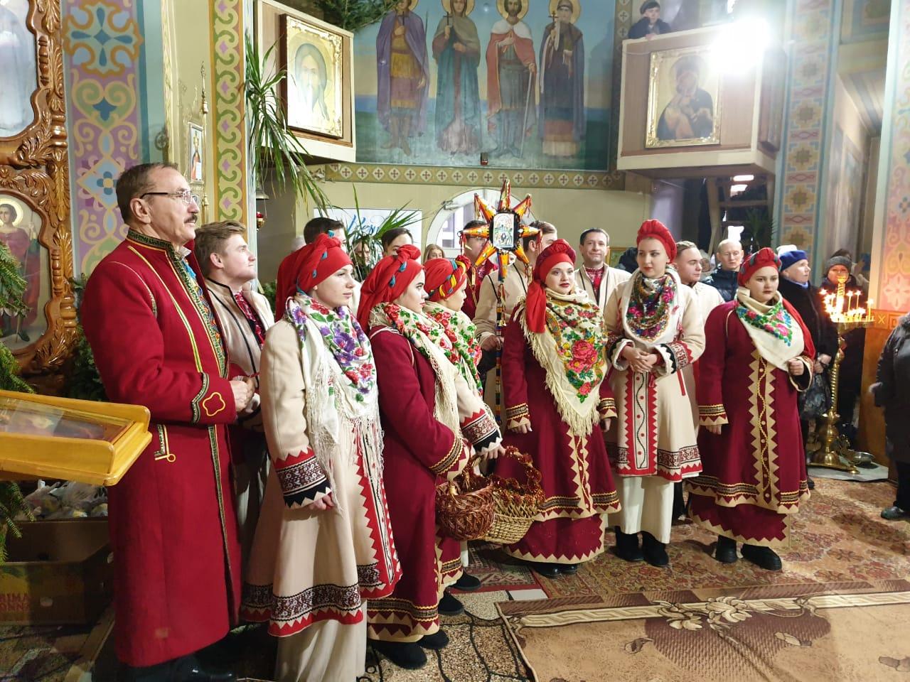 В Херсоне выступали Рождественские православные хоры